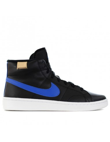 Nike Men's Court Royale 2 Mid High Top Casual Sneakers From Finish Line In Black, Game Royal