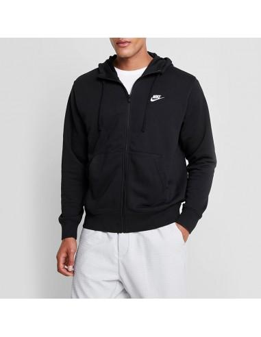 Nike - Felpa full zip con logo