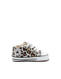 Converse - Sneakers da culla Archive Leopard Easy-On Chuck Taylor