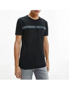 Calvin Klein - T-shirt with reflective logo