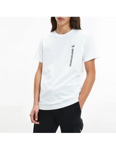 Calvin Klein - T-shirt with vertical...