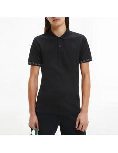 Calvin Klein Jeans - Polo a due bottoni con logo