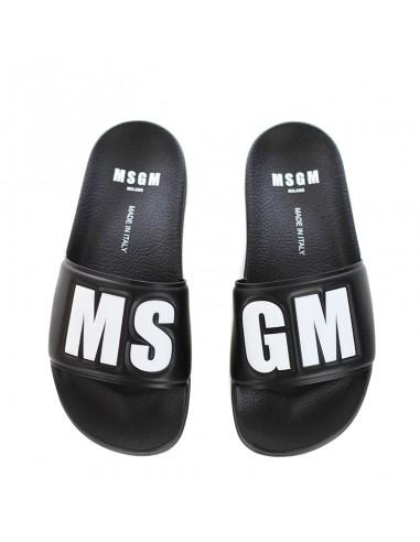 MSGM - Slipper con logo