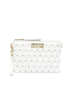 Versace Jeans Couture - Pochette logo with studs