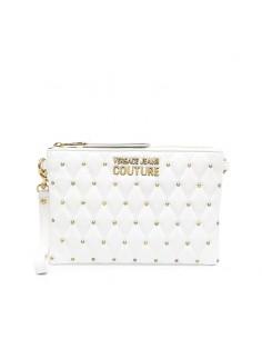 Versace Jeans Couture - Pochette trapuntata con borchie