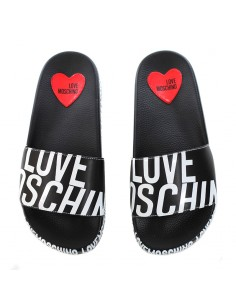 Love Moschino - Slipper with all over logo