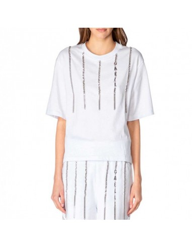 Gaelle Paris - T-shirt with logo and...