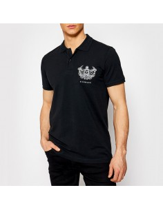Richmond - Polo shirt with embroidered drawing