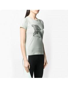 Richmond - T-shirt con logo borchiato