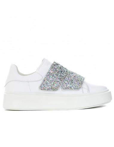 Frau - Sneakers con doppio velcro