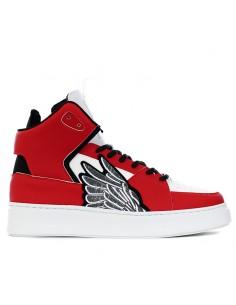 Brian Mills - Sneakers mid con ricamo iconico
