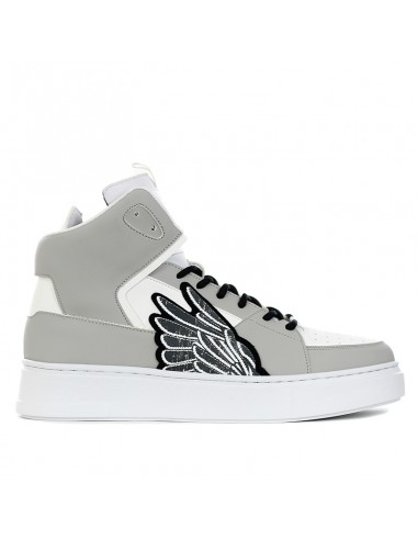 Brian Mills - Sneakers mid con ricamo...
