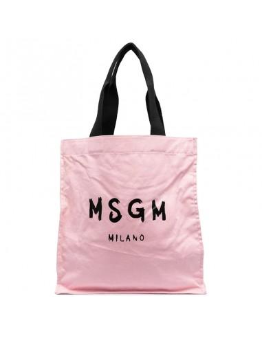 MSGM - Borsa a mano con logo