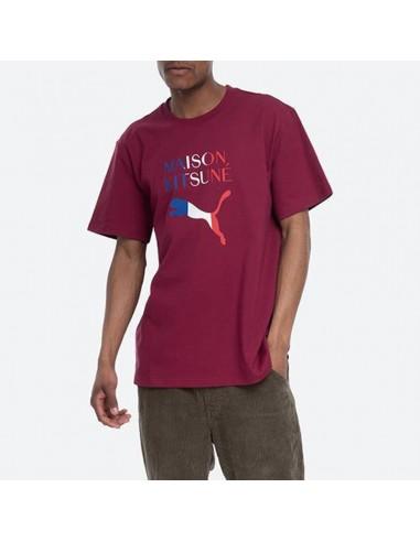 Puma x Maison Kitsuné - T-shirt con logo