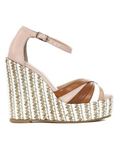 L'amour -  Wedge with ankle...