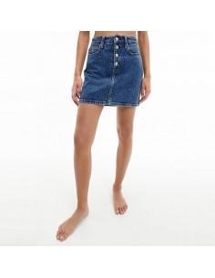 Calvin Klein Jeans - Mini gonna in denim