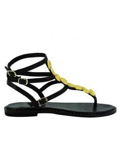 Tsakiris  Mallas - Sandalo con accessori applicati