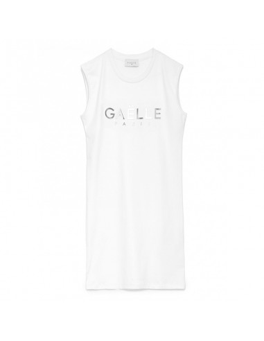 Gaelle Paris - Dress with mirror logo
