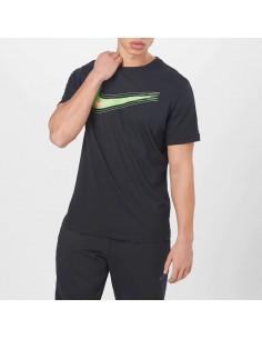 Nike - T-shirt con logo swoosh