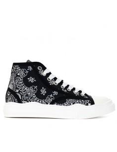 Spark - Sneakers mid con fantasia bandana