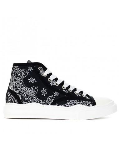 Spark - Sneakers mid con fantasia...