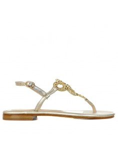 SIANO VIA ROMA - Sandalo gioiello