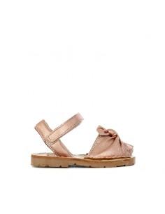 Ria Menorca Kids - Sandalo con fiocco ornamentale