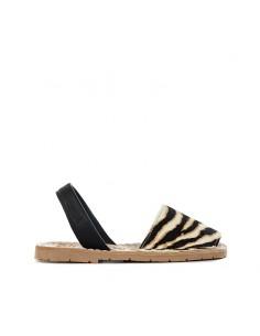 Ria Menorca Kids - Sandalo con stampa tigrata