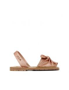 Ria Menorca Kids - Sandal with ornamental bow