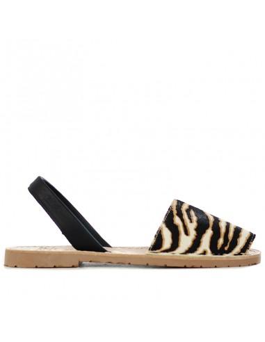 Ria Menorca - Sandal with tiger print