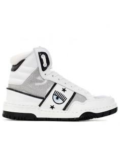 CHIARA FERRAGNI - Mid sneakers with logo