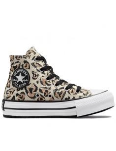 CONVERSE -Sneakers leopard