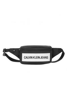 CALVIN KLEIN JEANS - Marsupio con logo gommato