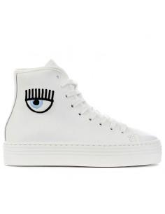 CHIARA FERRAGNI - Sneakers mid with logo
