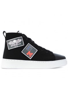BRIAN MILLS - Sneakers con patch logo