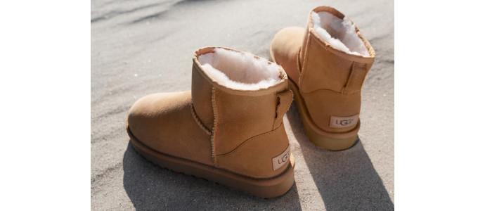 UGG: la nuova collezione dei classici stivali morbidi imbottiti